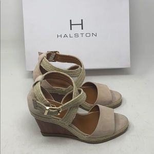 New/dis | H HALSTON | summer wedges